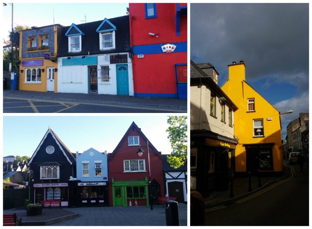 Kinsale colourful buildings