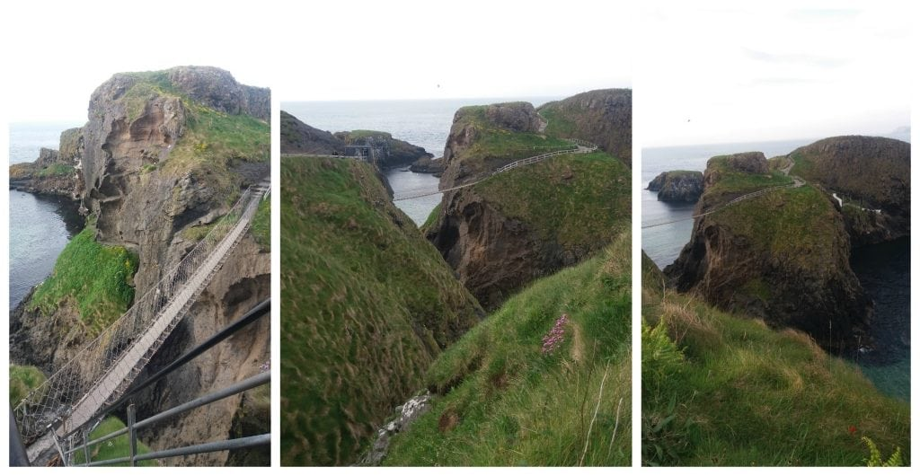 The Carrick-a-Rede rope bridge