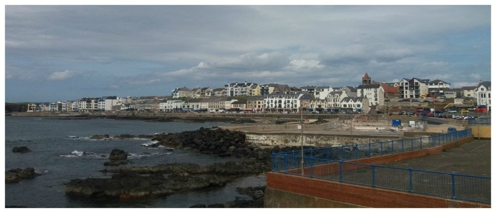 The town of Portstewart, N.Ireland