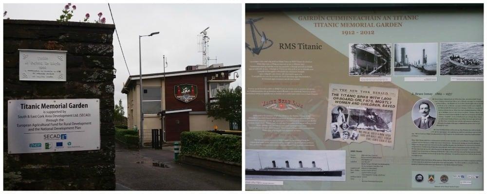Titanic Memorial Garden in Cobh