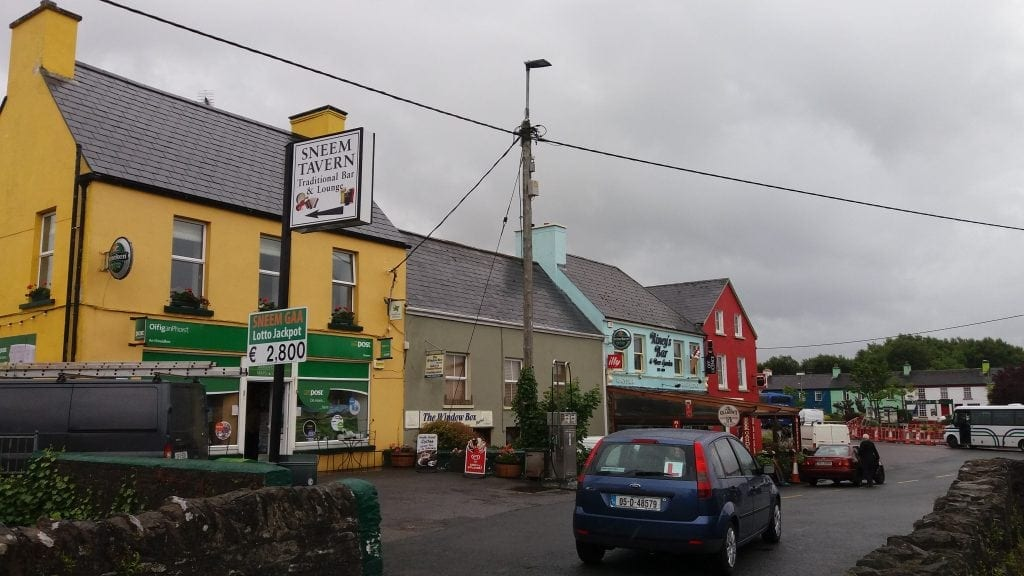 Sneem on the Ring of Kerry tour