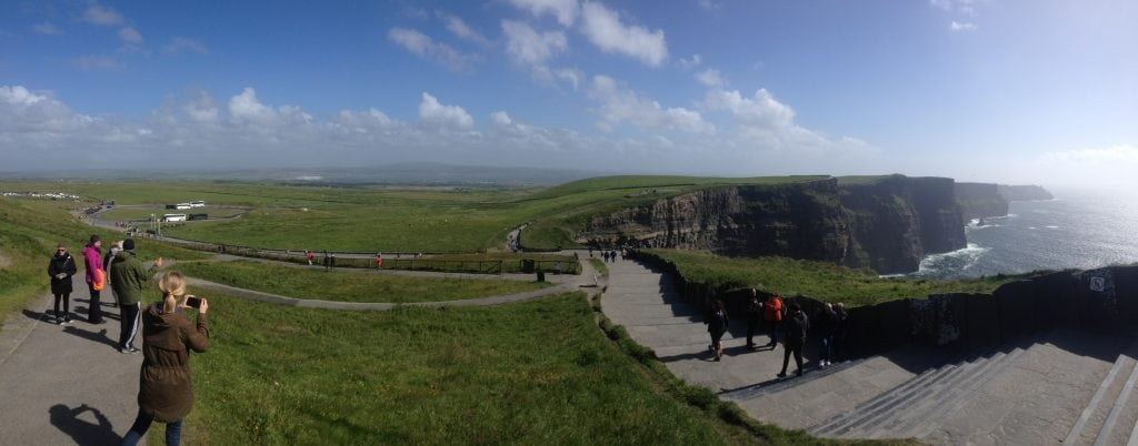 The Cliffs of Moher & O'Briens Tower