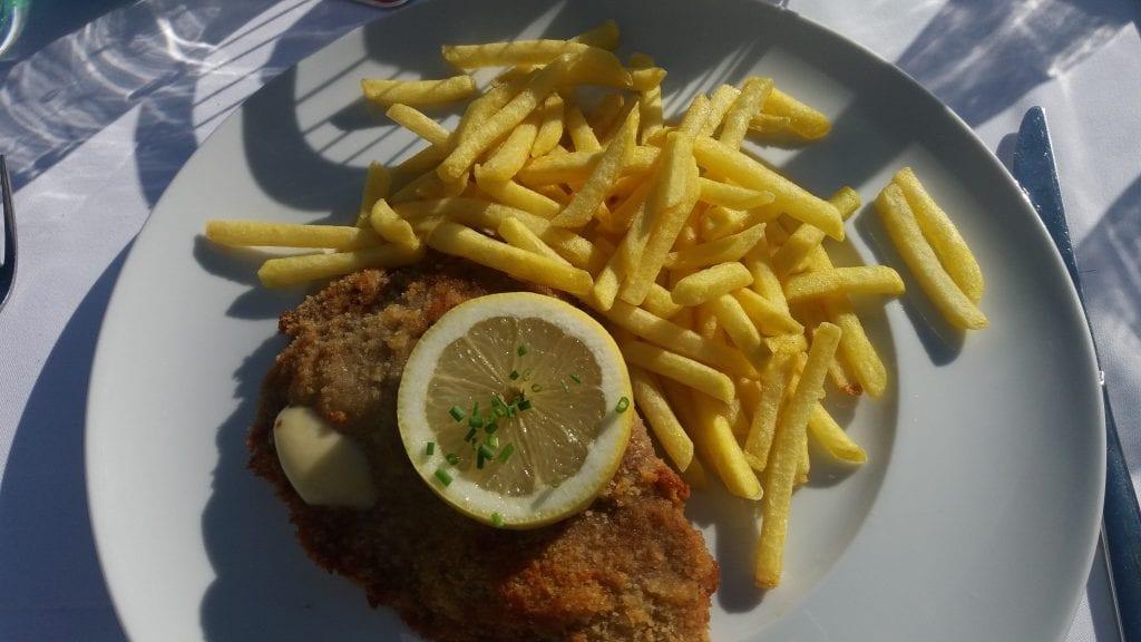 Cordon Bleu from restaurant Blüemlismatt