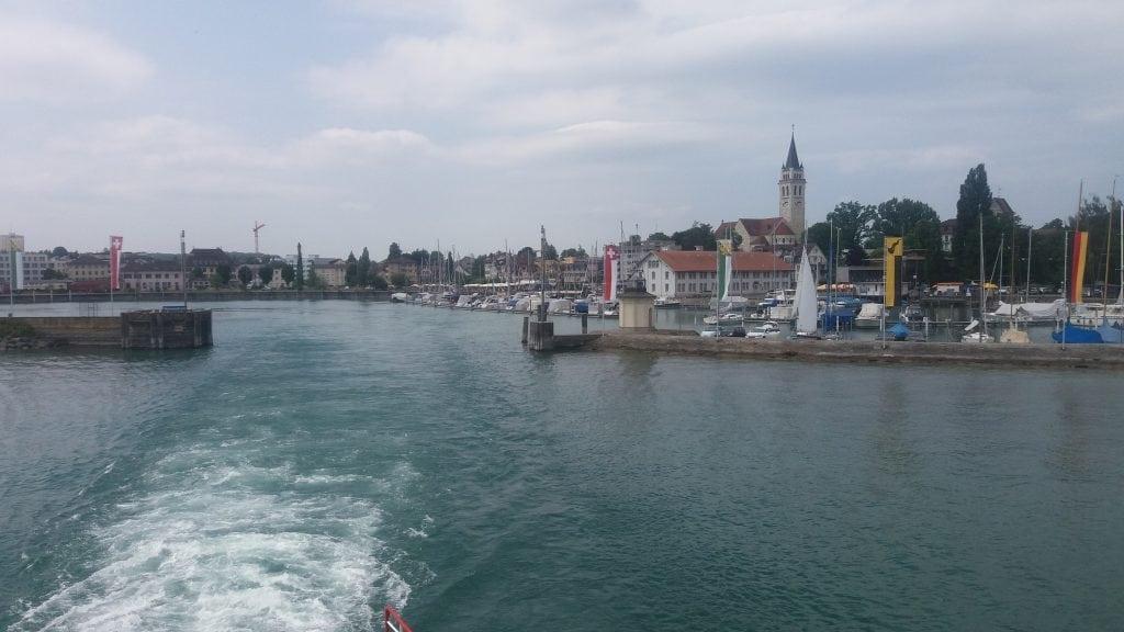 Romanshorn Bodensee ship to Friedrischafen