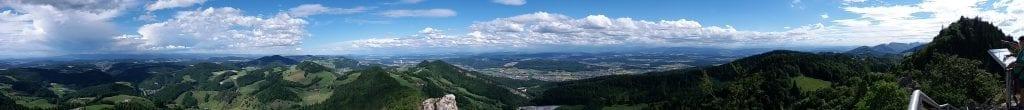 Panorama from Bölchen or Belchenflue