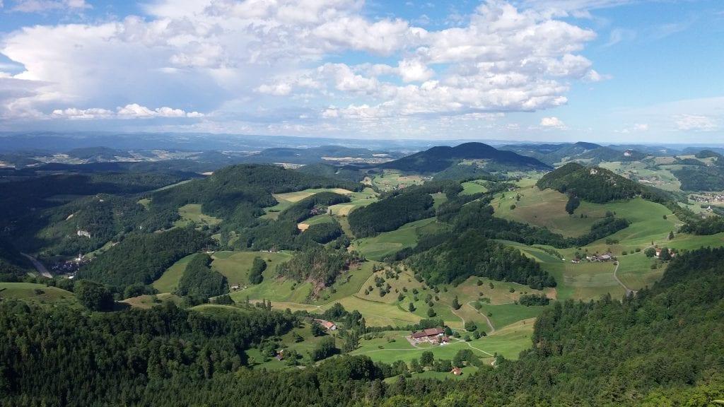 Views from Belchenflue