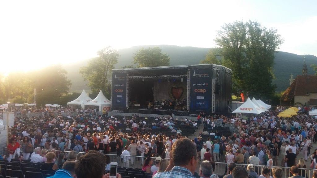 Zucchero concert Kestenholz