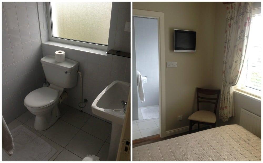 Bedroom & bathroom in Sli na Mara BnB