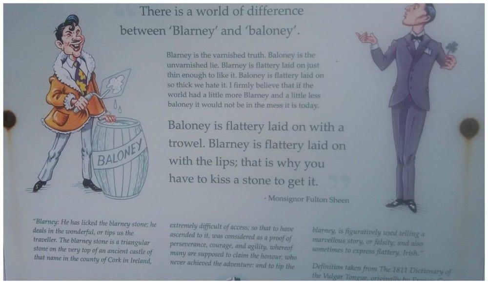 Blarney or Baloney