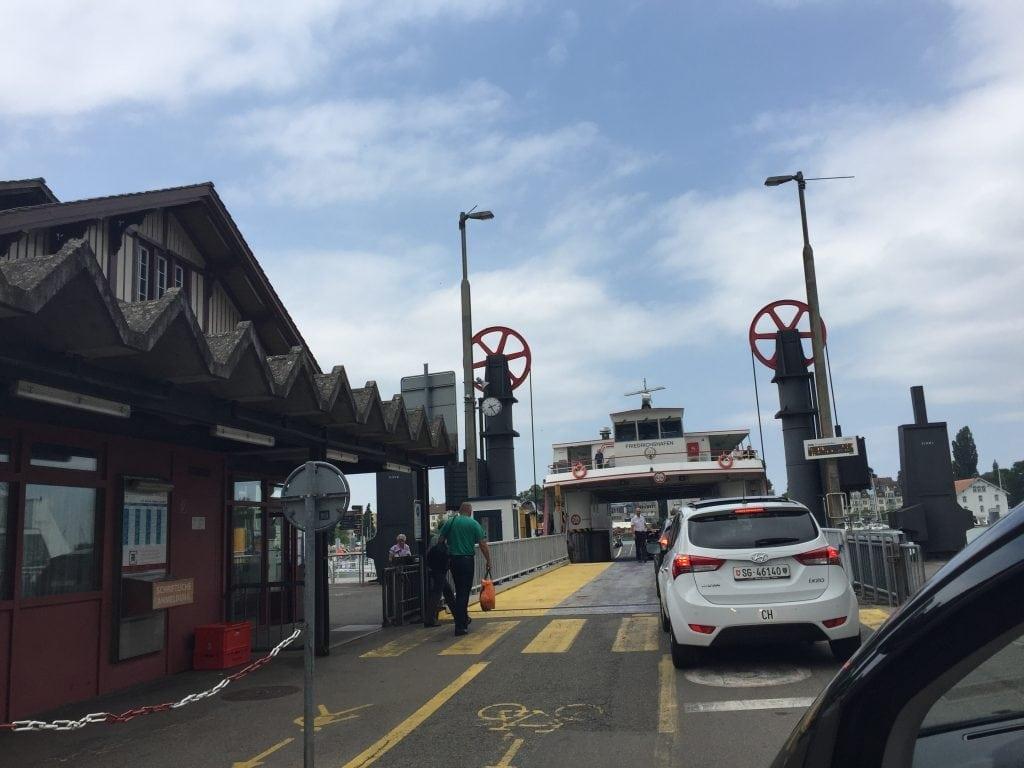 Romanshorn Bodensee ferry