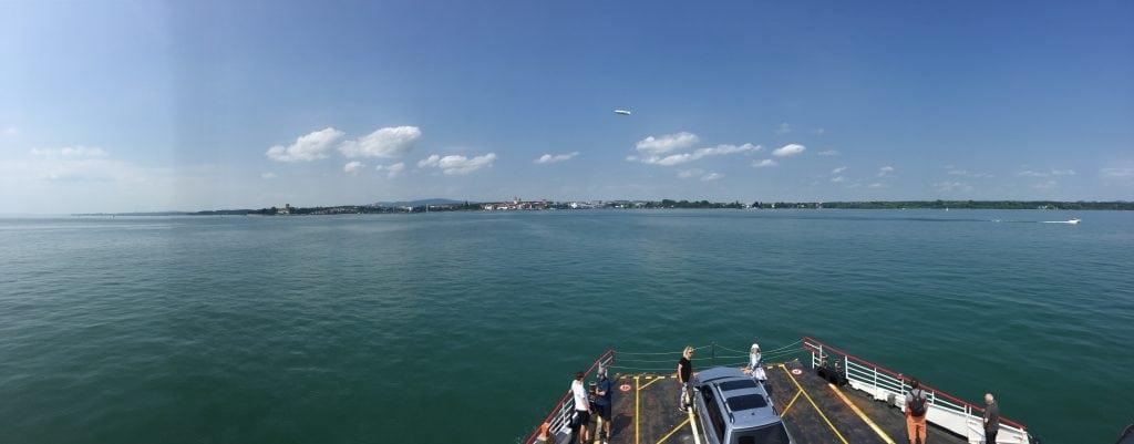 Romanshorn Lake Constance ship to Friedrischafen