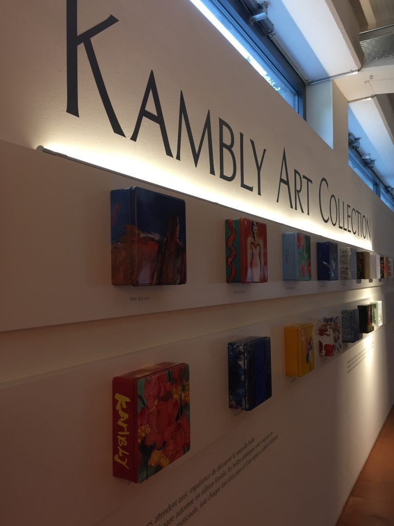 Kambly biscuit tin art collection