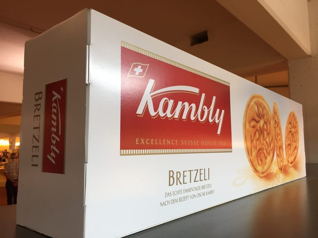 Kambly biscuits experience