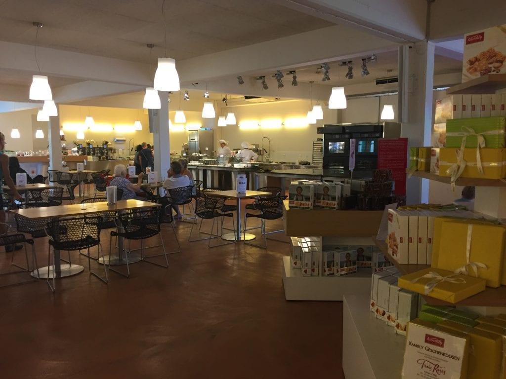 Kambly working display kitchen