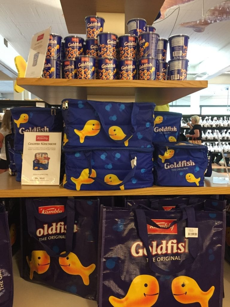 Kambly Goldfish biscuits