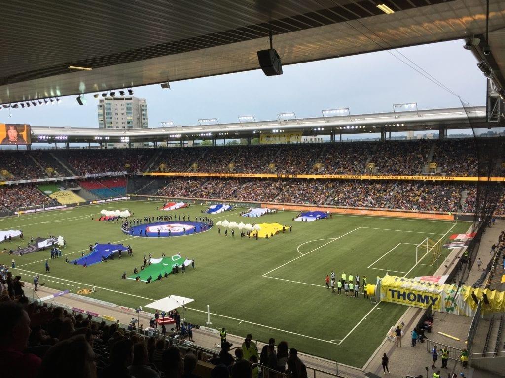 Stade de Suisse in Wankdorf Bern