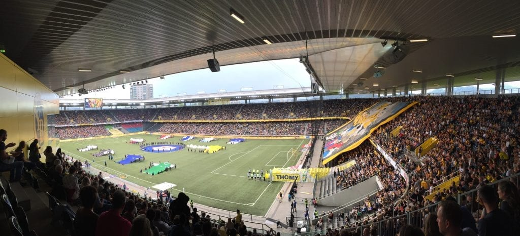 Young Boys Bern v Basel in 2017