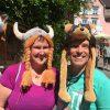 Funny hats in Meersburg