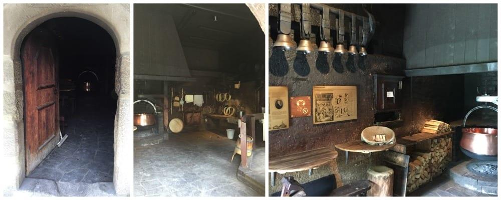 Inside the old Emmentaler kaeserei