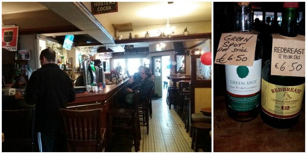 Irish Bar for Green Spot Whiskey