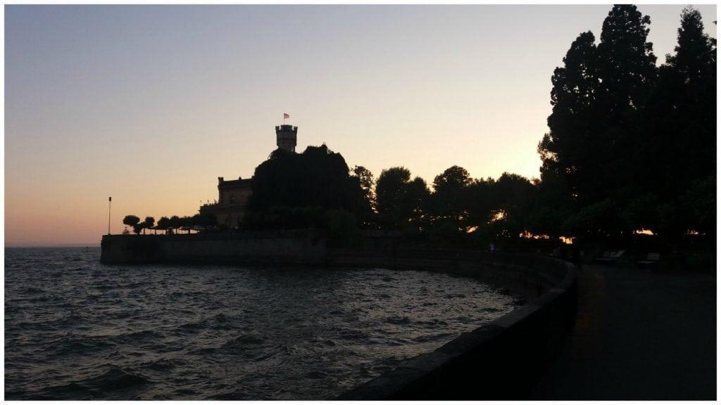 Montfort Castle on Lake Constance