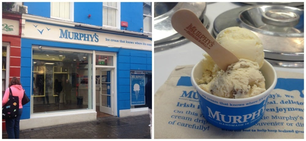 Murphy's ice cream parlour
