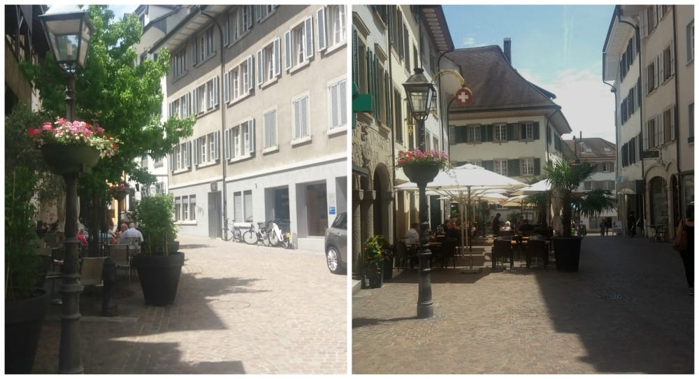 Old town in Olten