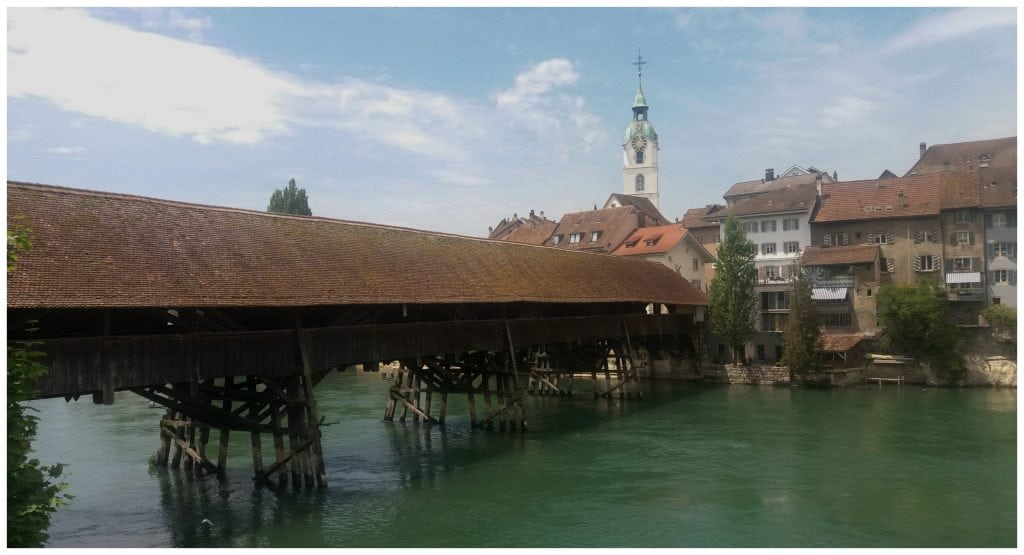 Olten Holzbrücke - Covered wooden bridge