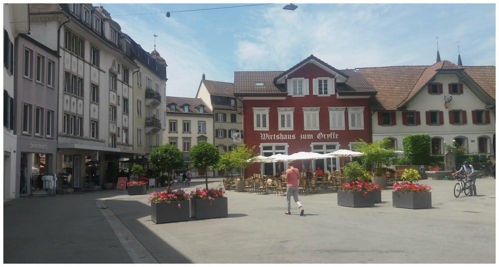 Olten town area