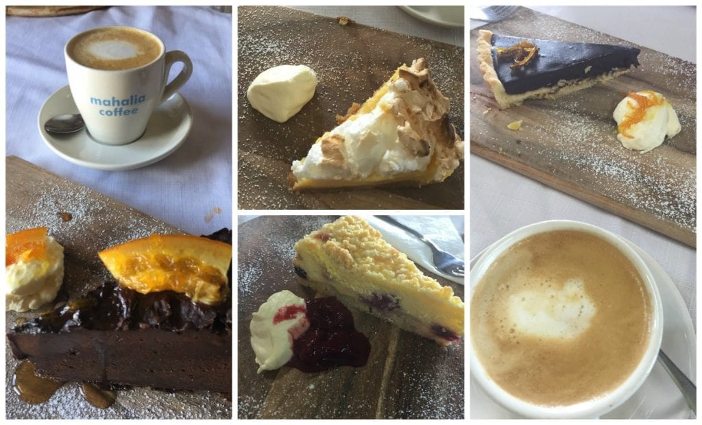 A selection of our coffee & cake treats