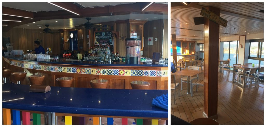 BlueIguana Bar on Carnival Legend