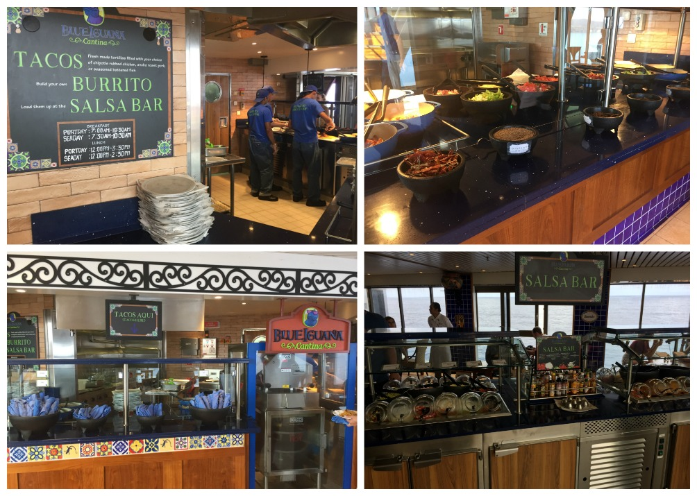 BlueIguana Cantina on Carnival Legend
