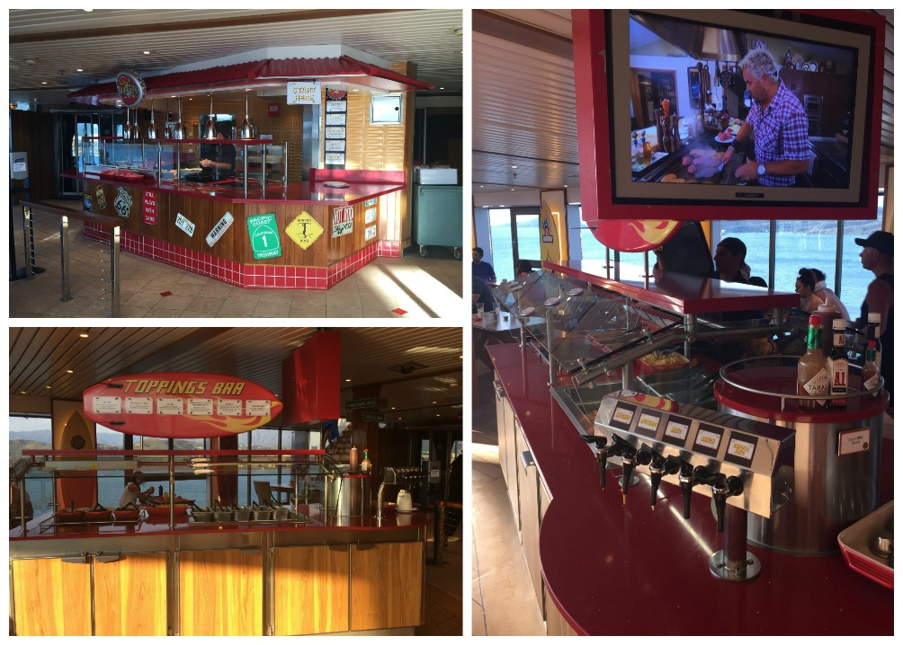 Guy's Burger Joint on Carnival Legend