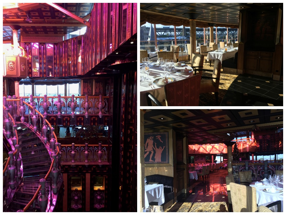 Nouveau restaurant on Carnival Legend