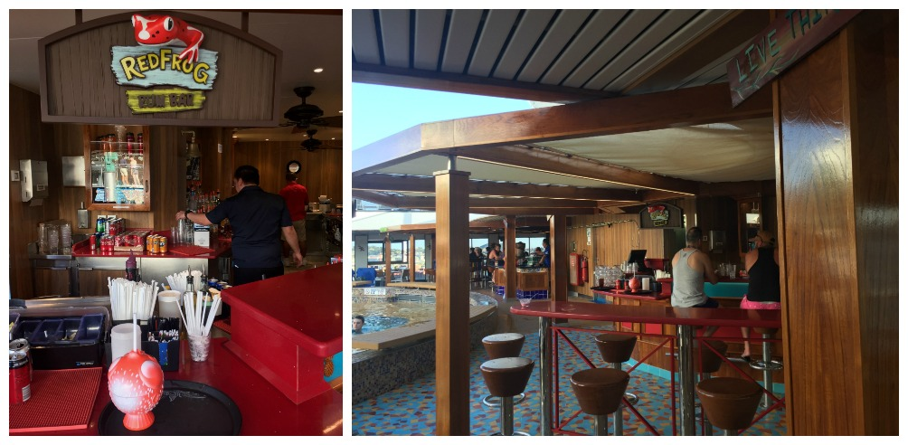 Red Frog Rum Bar on Carnival Legend