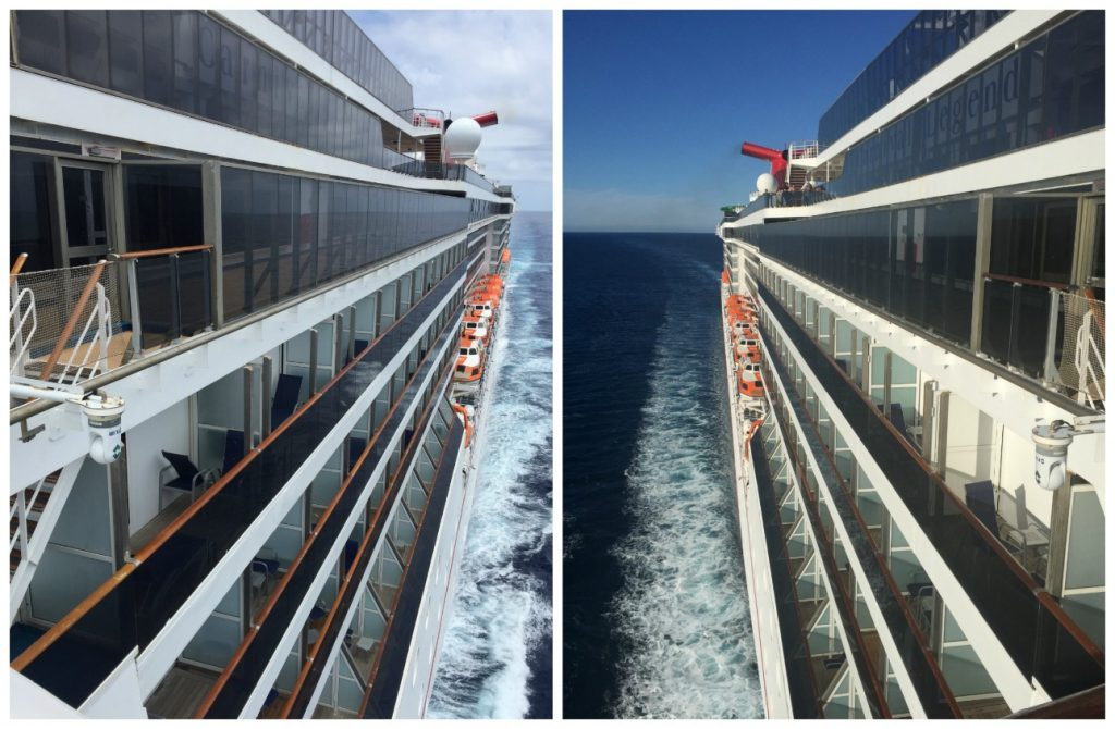 Side views of Carnival Legend