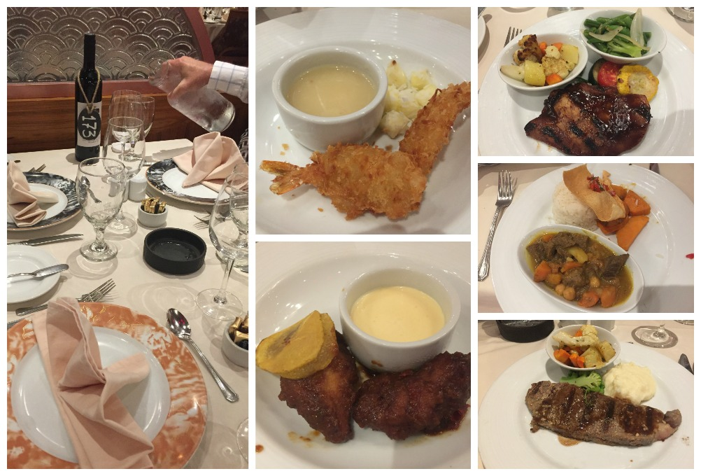 Table 173 & dinner meals