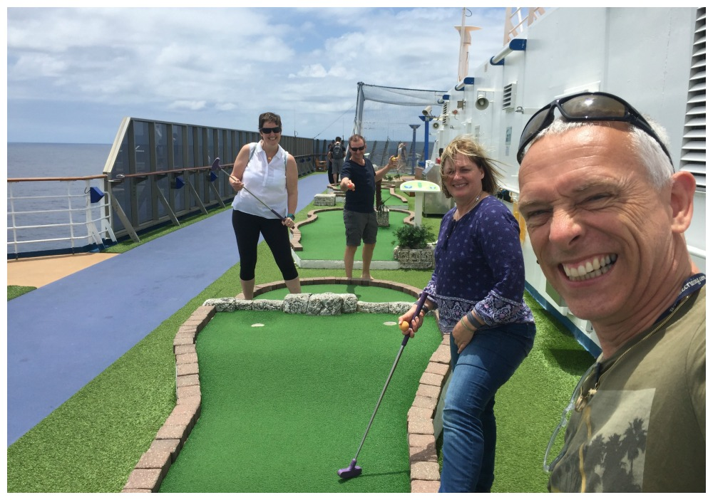 The Cruise open mini-golf challenge 2018