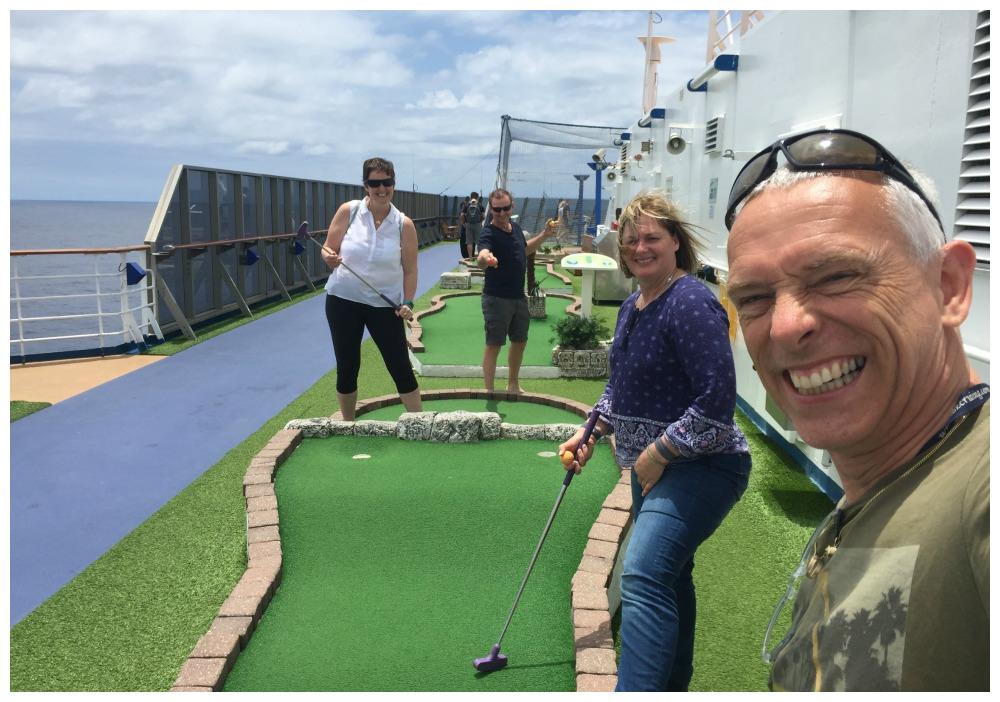 The Cruise open mini-golf challenge 2018