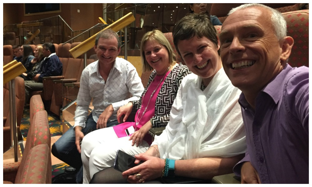 Theatre time on Carnival Legend