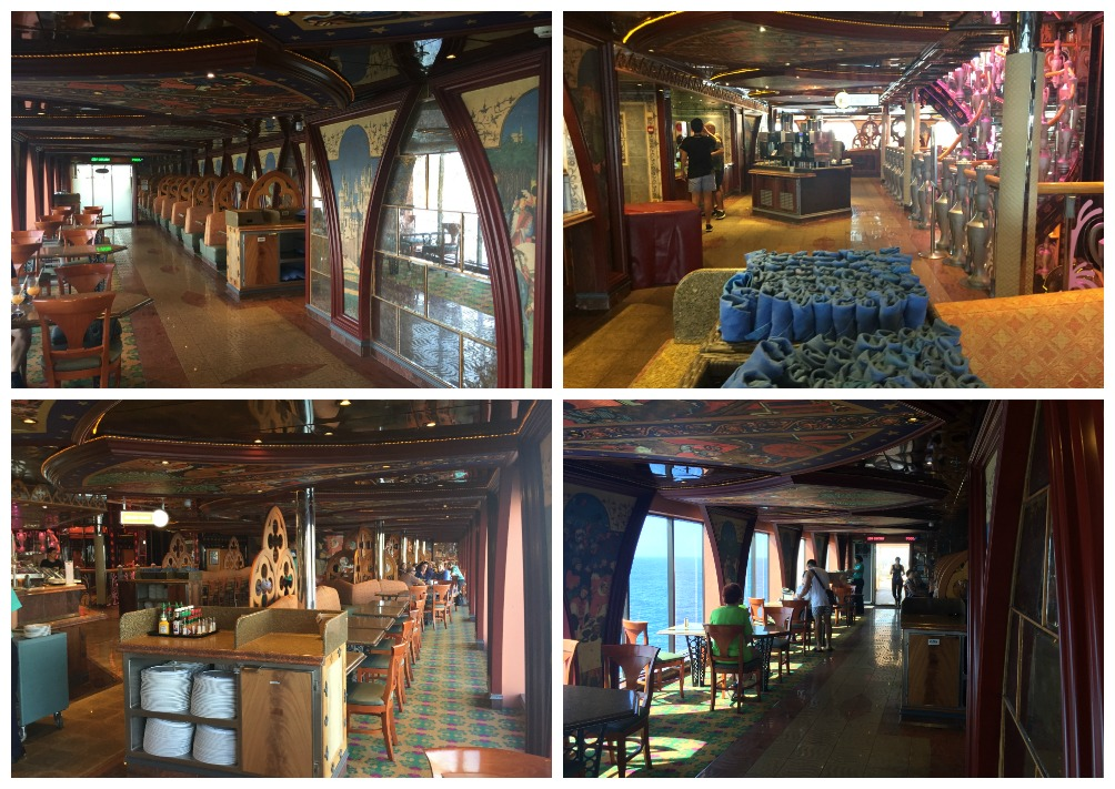 Unicorn cafe on Carnival Legend
