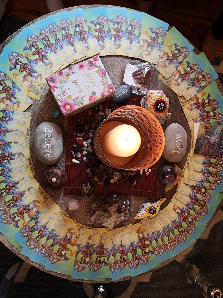 Sacred circle at the Irresistible Impact Business Retreat 2019