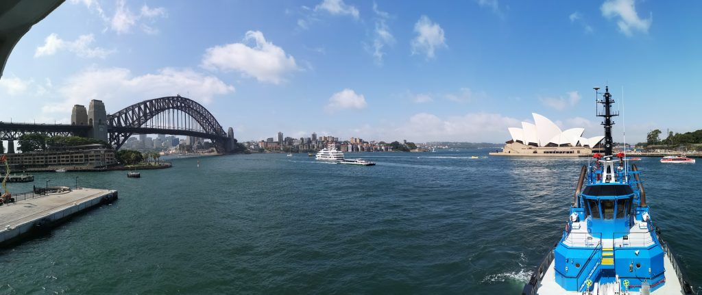 Sail away from Sydney