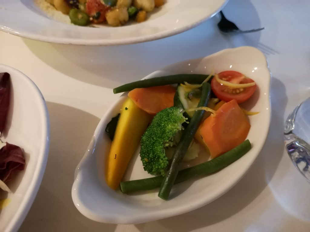 Meals at Angelo's on Pacific Eden