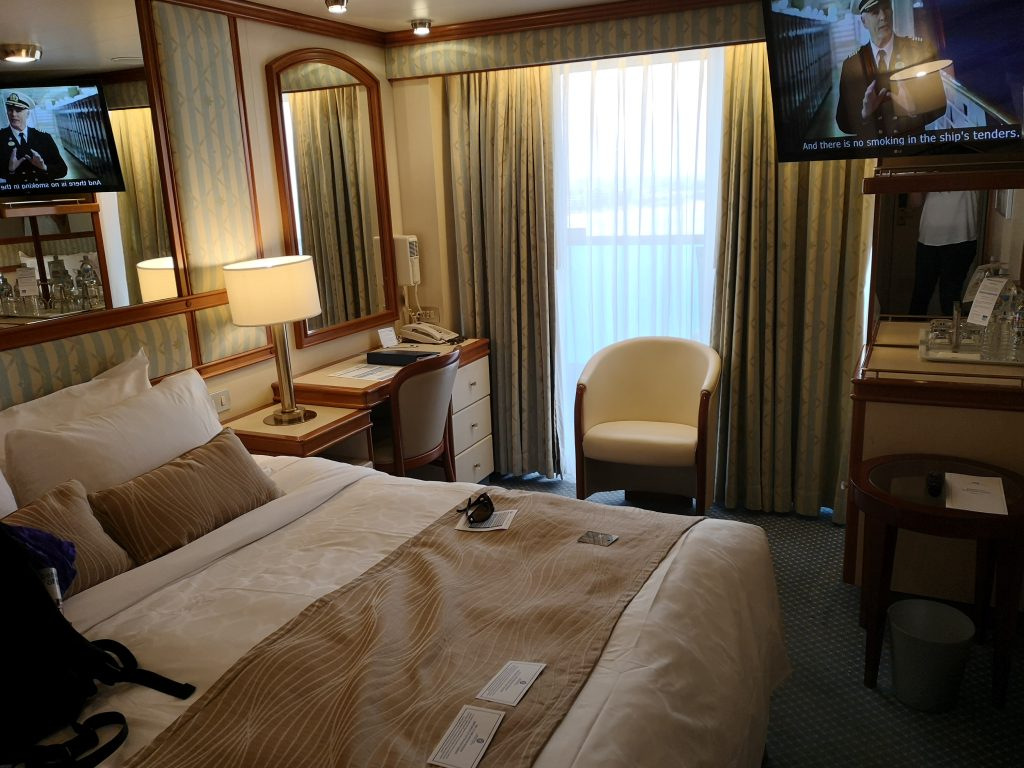 Balcony cabin A706 on Golden Princess