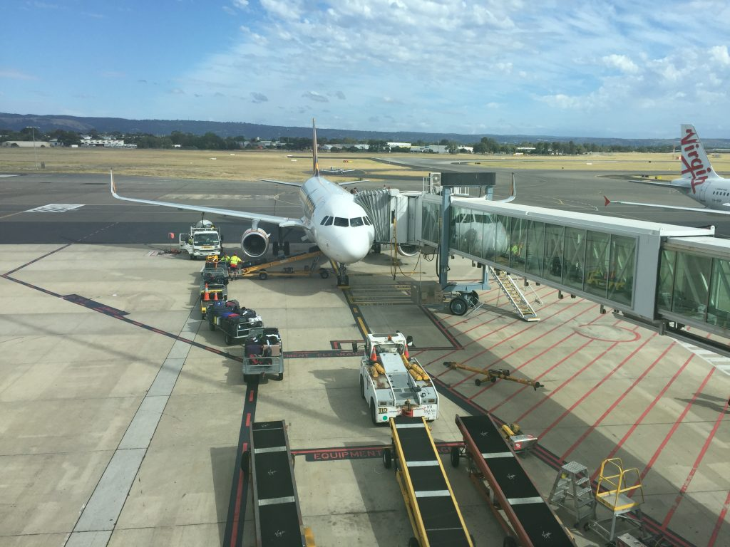 Tiger Air flight Adelaide to Sydney