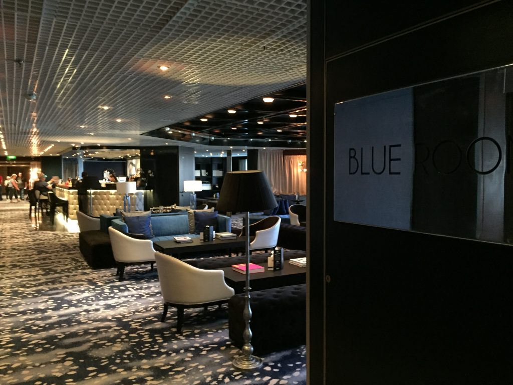 Blue Room Bar on Pacific Eden