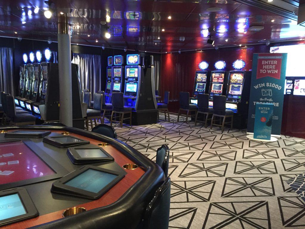 Casino on P&O Pacific Eden