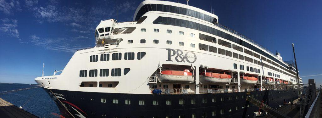 P&O Pacific Eden 2019